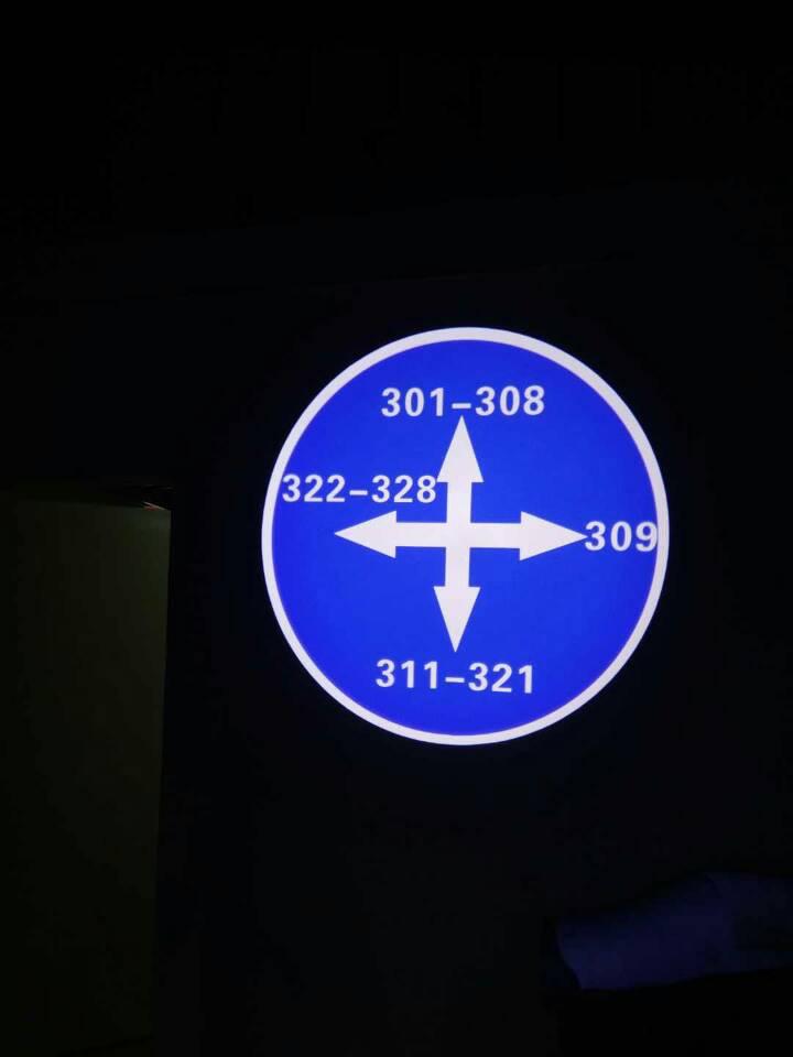 房间指示标